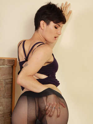 Older babes in stockings